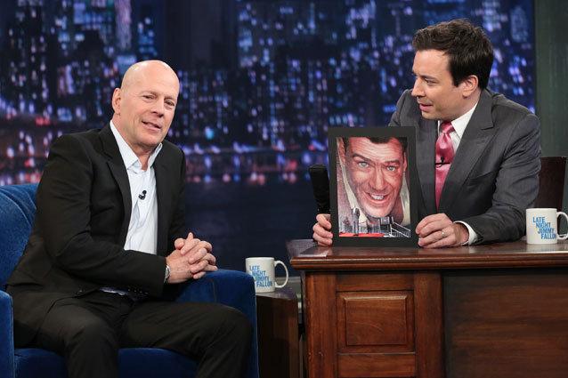 Bruce Willis on Jimmy Fallon