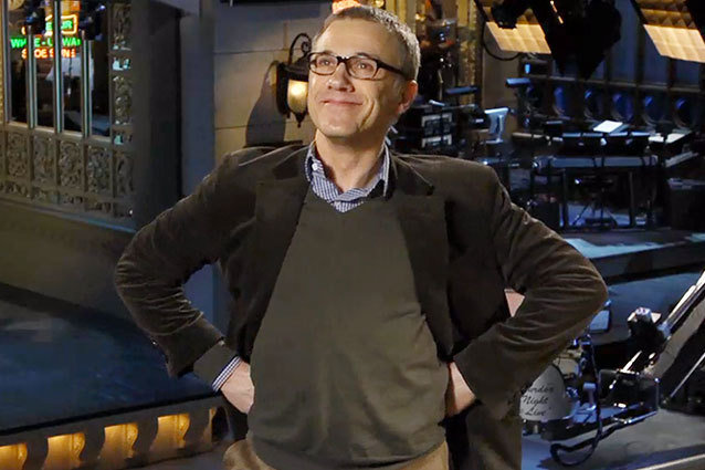 Christoph Waltz on SNL