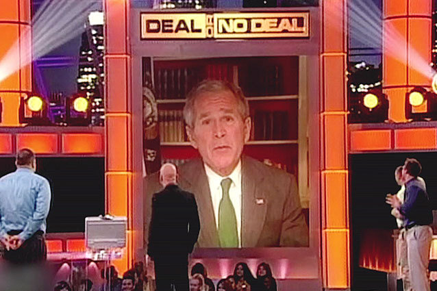 George W. Bush on Deal or No Deal
