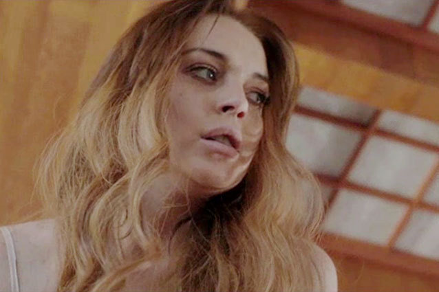 Lindsay Lohan in 'The Canyons'