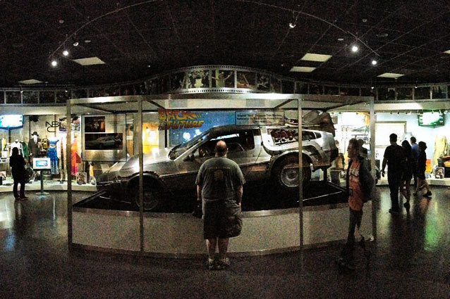 Back to the Future Time Machine Restoriation Universal Studios