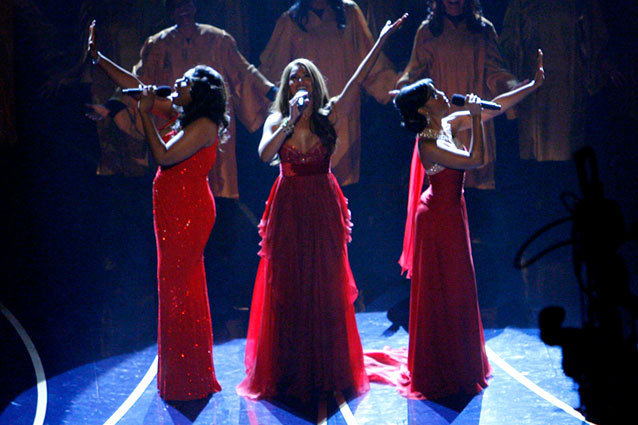 Dreamgirls Oscar Performance