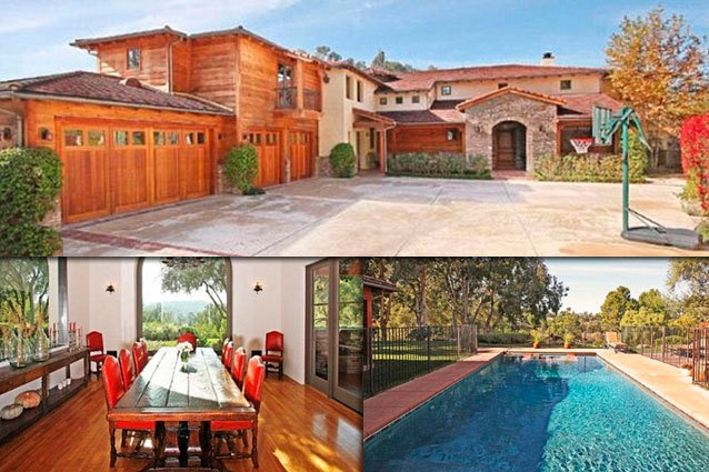 LeAnn Rimes mansion in Hidden Hills, California, United States