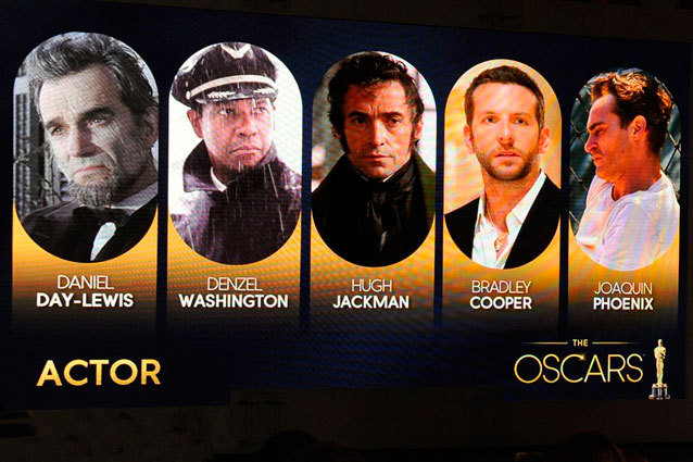 Predicting Best Actor Oscars 2013