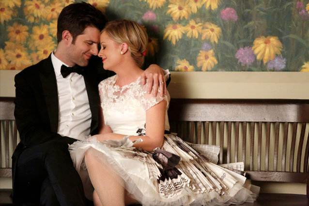 Leslie and Ben get married on Parks and Rec