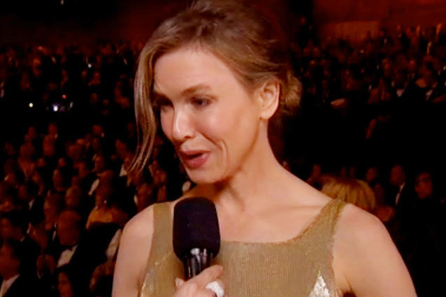 Renee Zellweger at the Oscars 2013