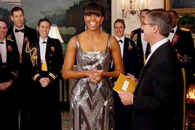 Michelle Obama Argo Best Picture
