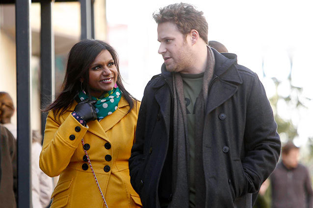 Mindy Kaling and Seth Rogen