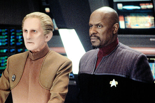 Rene Auberjonois and Avery Brooks in 'Star Trek: Deep Space Nine'
