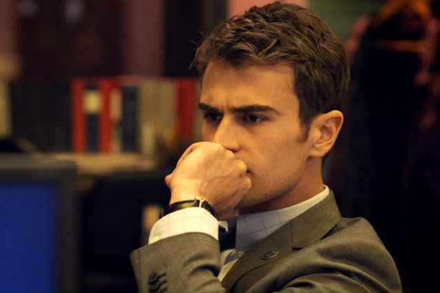 Theo James sexy Golden Boy