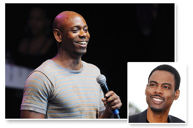 Dave Chappelle and Chris Rock performed comedy together