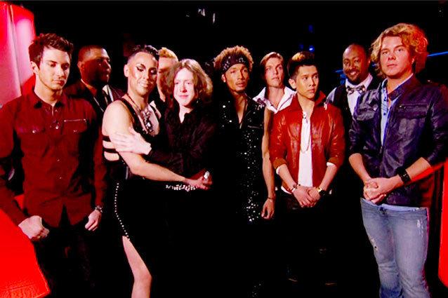 American Idol Guys Sudden Death Las Vegas