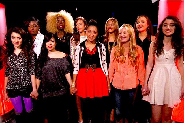 American Idol Top Girls Sudden Death Las Vegas