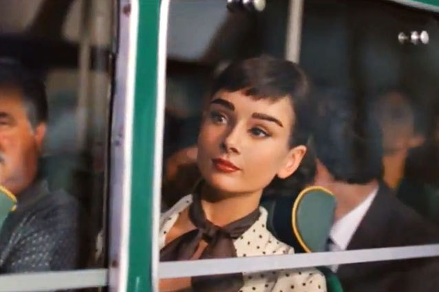 Audrey Hepburn for Galaxy Chocolate