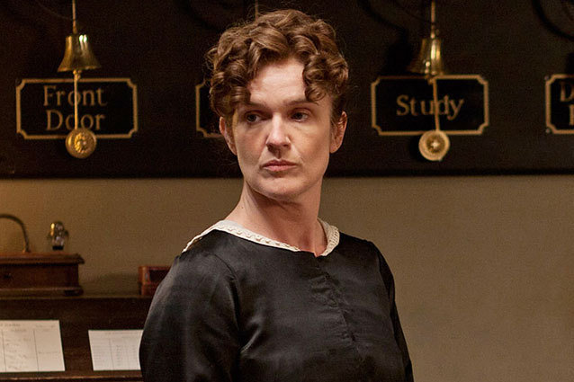 O'Brien Leaves Downton Abbey