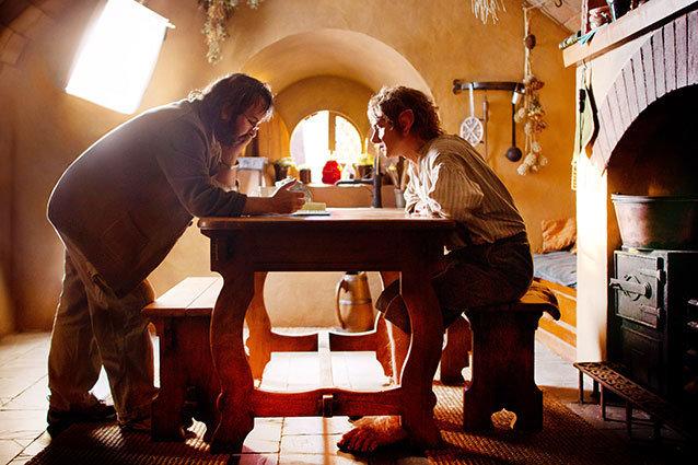 Martin Freeman Peter Jackson The Hobbit An Unexpected Journey