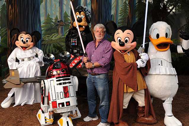 George Lucas Goes Disney