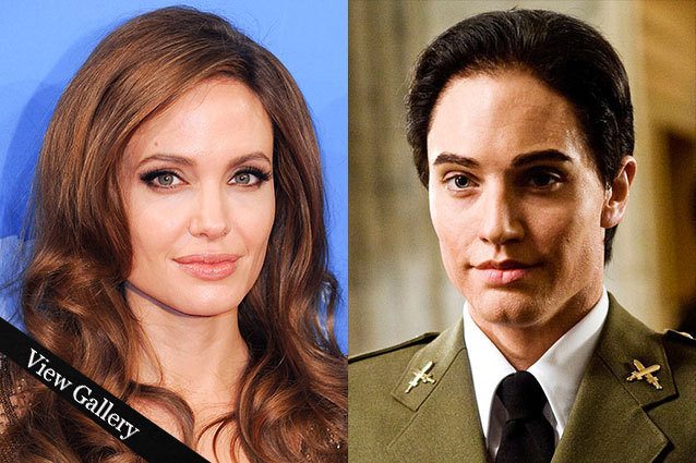 Angelina Jolie as Salt in Disguise