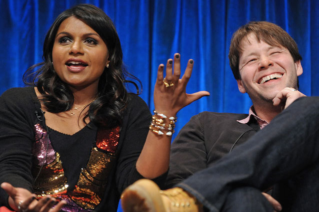 The Mindy Project cast at PaleyFest