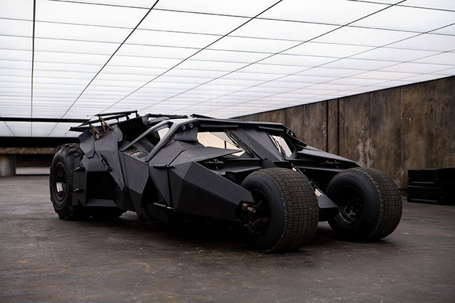 The Dark Knight Rises Batmobile