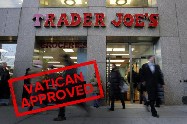 Vatican Approved Trader Joe's
