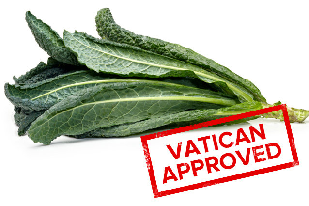 Vatican Approved Kale
