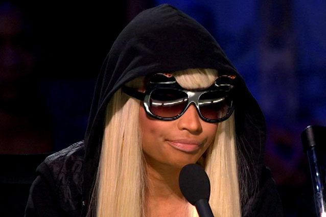 Nicki Minaj Hoodie, Late to American Idol Top 10