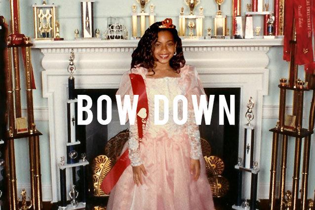 Beyoncé's Bow Down Cover Art