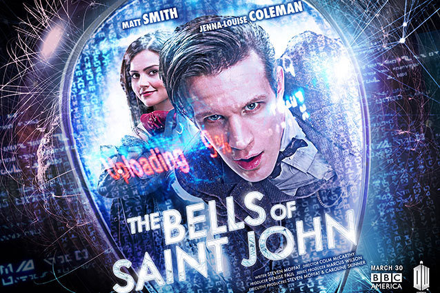 Doctor Who new poster Jenna-Louise Coleman and Matt Smith