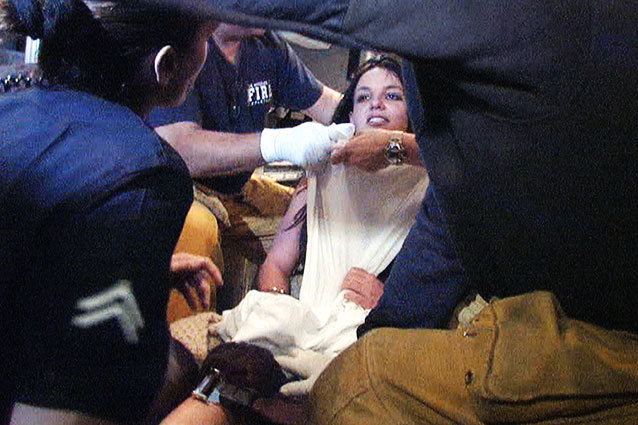 Britney Spears Breakdown Shaved Head