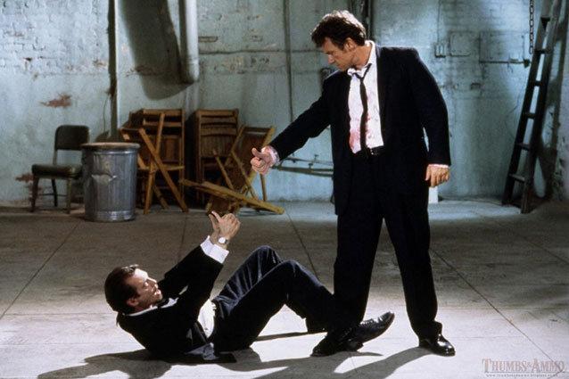 Harvey Keitel Reservoir Dogs Thumbs and Ammo No Gun