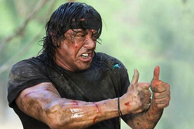 Rambo without guns