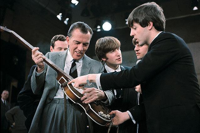 The Beatles on the Ed Sullivan Show