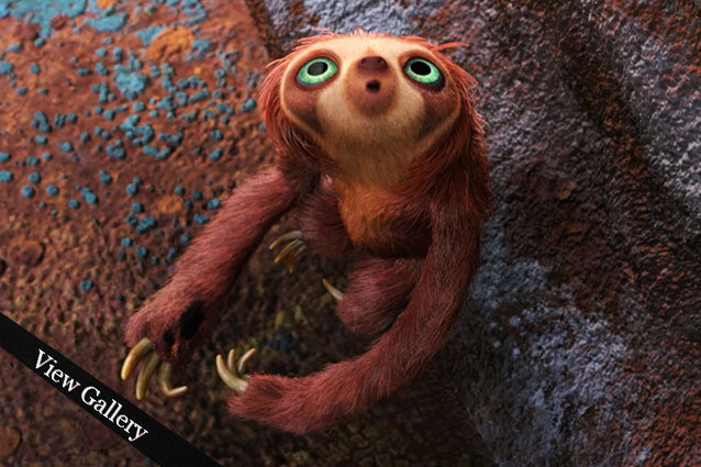 The Croods Belt Adorable Cartoon Animals