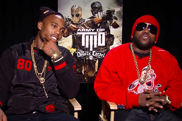 Big Boi and B.o.B on Army of Two The Devil's Cartel