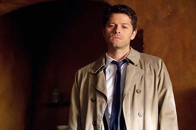 Who plays castiel wife sexual dysfunction