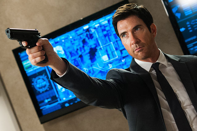 Dylan McDermott Olympus Has Fallen Interview