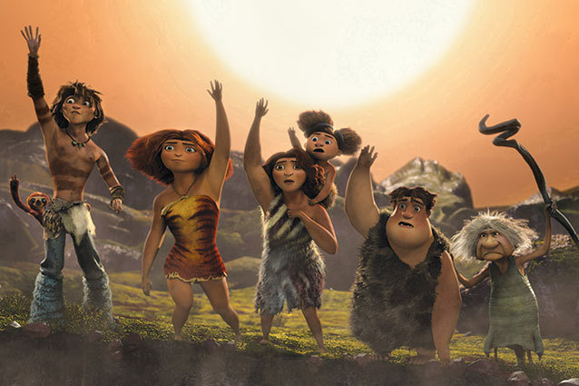 The Croods Weekend Box Office