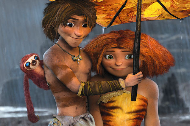 The Croods Belt, Guy, and Eep