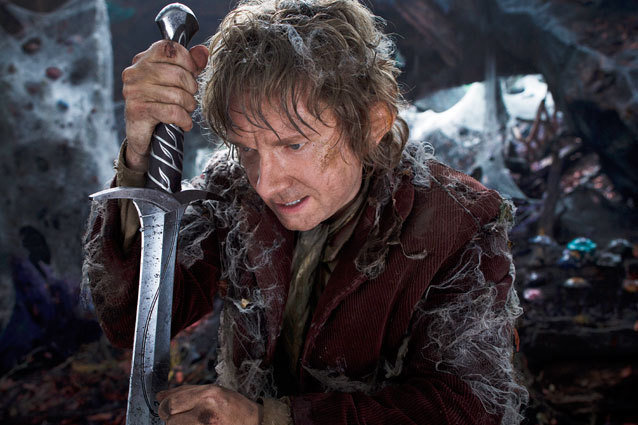 Martin Freeman in 'The Hobbit'