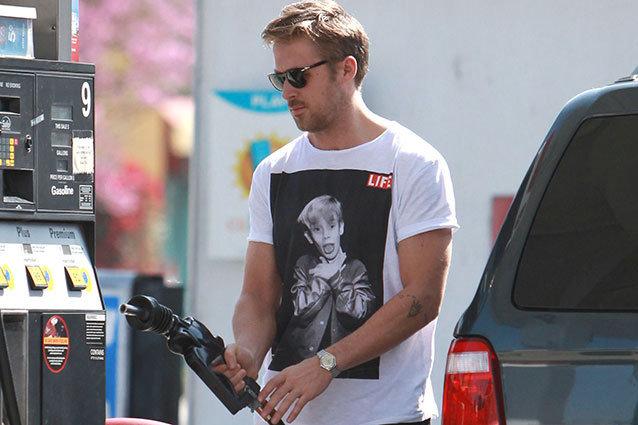 Ryan Gosling Pumping Gas