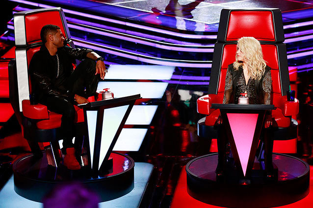 The Voice - Usher and Shakira