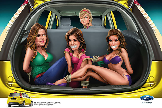 Kardashians Offended By Ford Ad