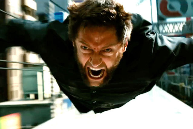 Wolverine - Flying