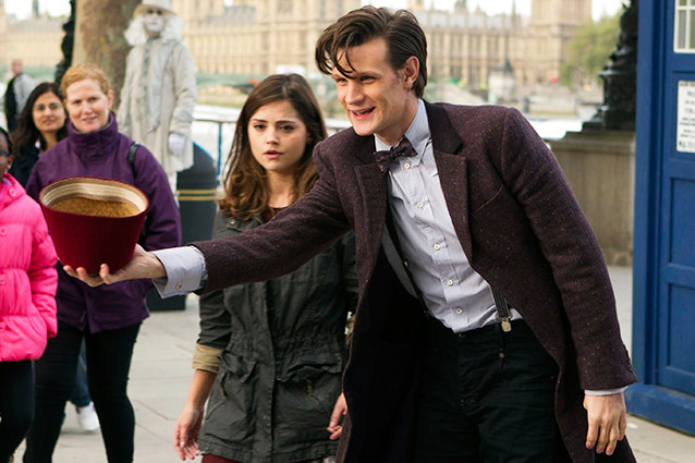 Doctor Who The Bells of St. John Matt Smith and Jenna-Louise Coleman