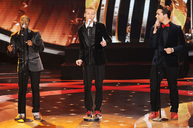 American Idol boys blew it for their group performance