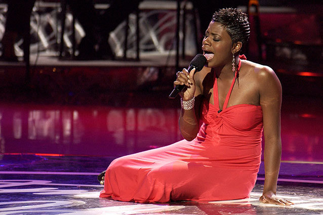 Fantasia Barrino sings Summertime on American Idol