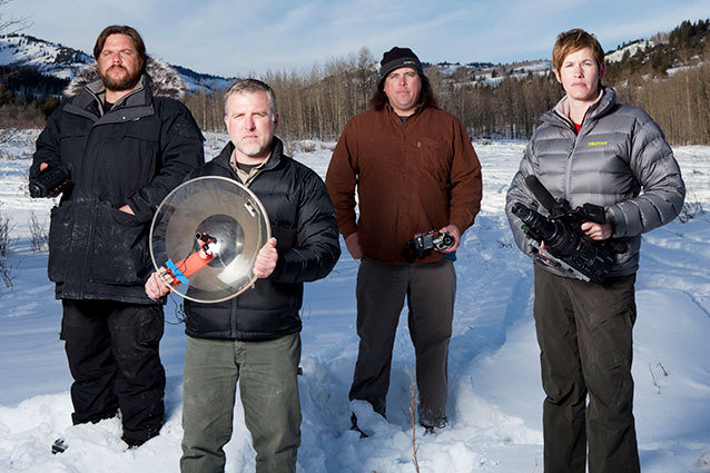 the 'Finding Bigfoot' team