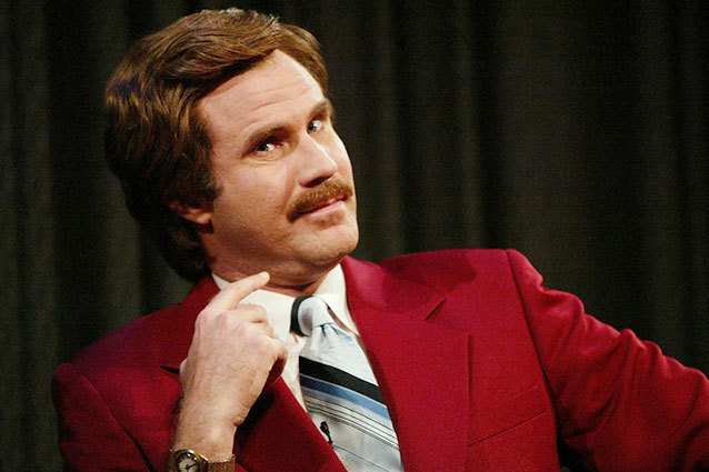 Will Ferrell in Anchorman 2