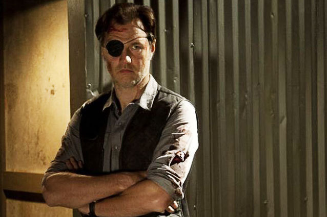 David Morrissey as The Walking Dead's Governor
